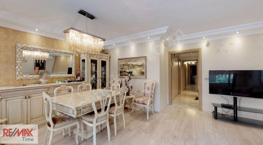 Luxurious Home Near Bagdat Street 2balconies 140m2