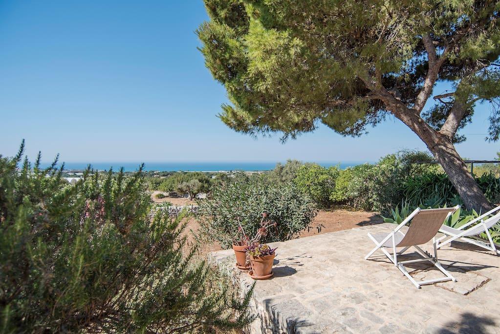 Cottage nel sud est sicilia case in affitto a sampieri for Piani casa del sud del cottage