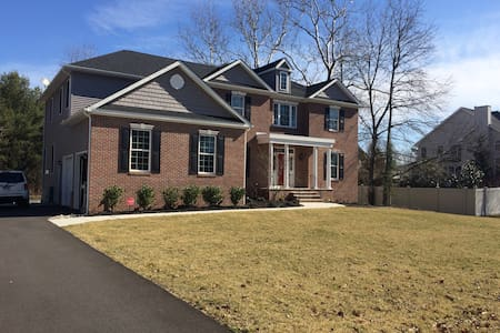 Large Home in Mount Laurel available for Easter - Mount Laurel - Ház