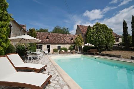 Superbe maison Quercy, piscine privée - Payrac