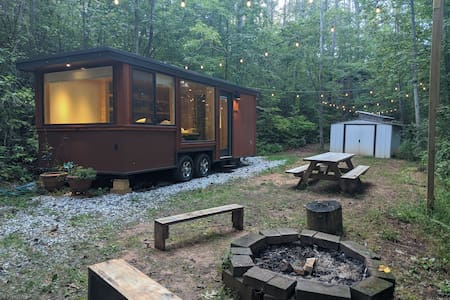 Dahlonega Tiny House on 5 Wooded Acres