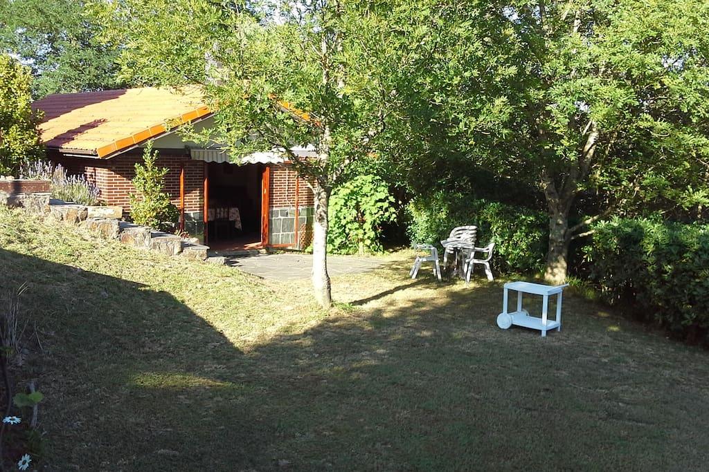Casa privada en entorno natural casas en alquiler en for El jardin prohibido restaurante