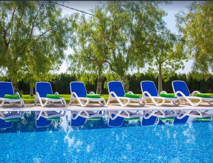 Fántastica casa en Sa Pobla con piscina y jardín