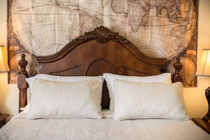 Bedroom #1: Plush Pillows, Soft Bedding & Extra Blankets