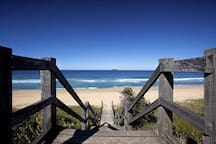 Nearby Sapphire beach