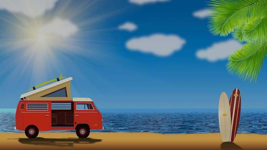 Fergus VW Campervan hire in South West - Uffculme - Camper/RV