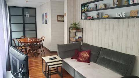Appartement cosy à 10 min à pied du centre-ville