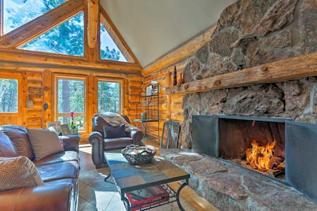 Secluded Cabin w/Mountain Views -  Near Mt. Evans!