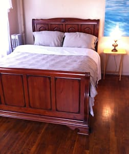 Happy Holidays! Nice Bedroom 15 min to city - Bronx - Apartamento