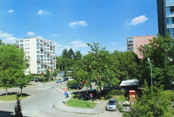 Private Room close to Westpark and Audi Forum - Ingolstadt - Apartamento