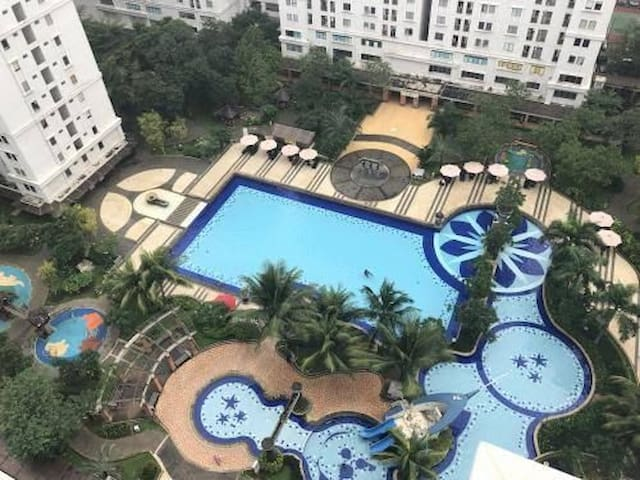 Apartment in strategic location with pool and gym