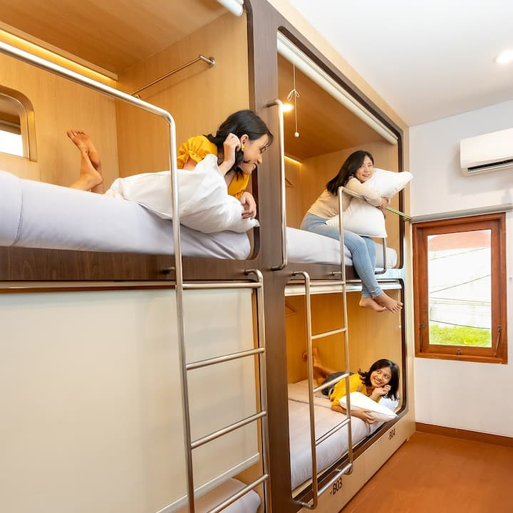 Kamala House Capsule Room for 4 Persons - C