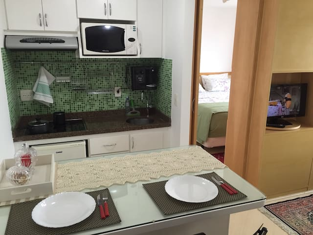 Vista da cozinha / Kitchen view