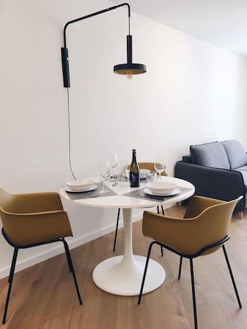 Apartamento 1 hab. Excepcional.