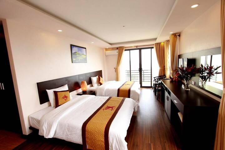 Dang nguyen hotel double room