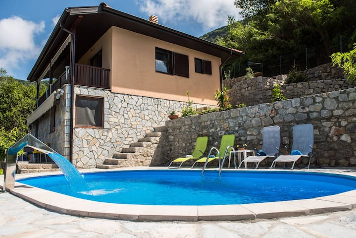 Two-Bedroom Villa with Pool and Stunning View
