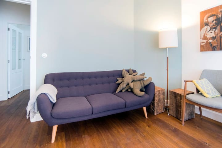part of the livingroom with sofa