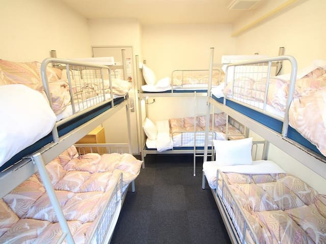 6mins->Ikebukuro Sta/1bed/Mixed Dorm+Breakfast
