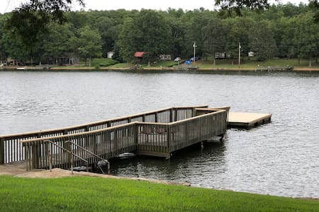 Secluded Lakefront Living at Highrock Lake