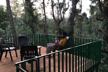 Valsala Estate Home, Villa with Forest view, Coorg