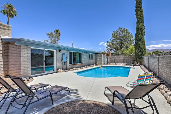 NEW! Contemporary Tucson Getaway w/ Private Pool!