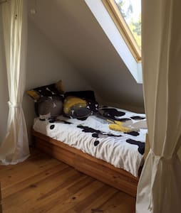 Schönes Zimmer zwischen Potsdam und Berlin - Michendorf - 公寓
