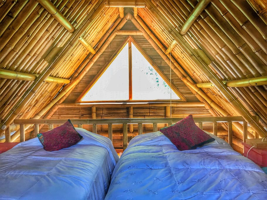 Beautiful and sustainable bamboo construction