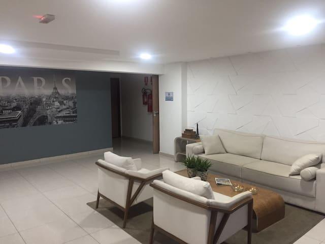 Sala de espera prédio