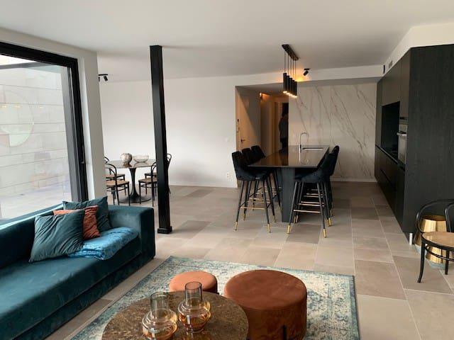 Luxe fashion appartement  in Rapertingen  Hasselt