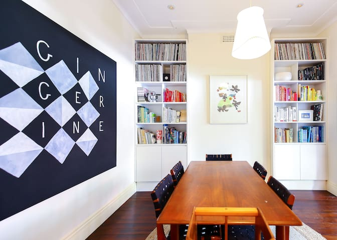 Stylish and Artistic Kirribilli Family Home - Kirribilli - House