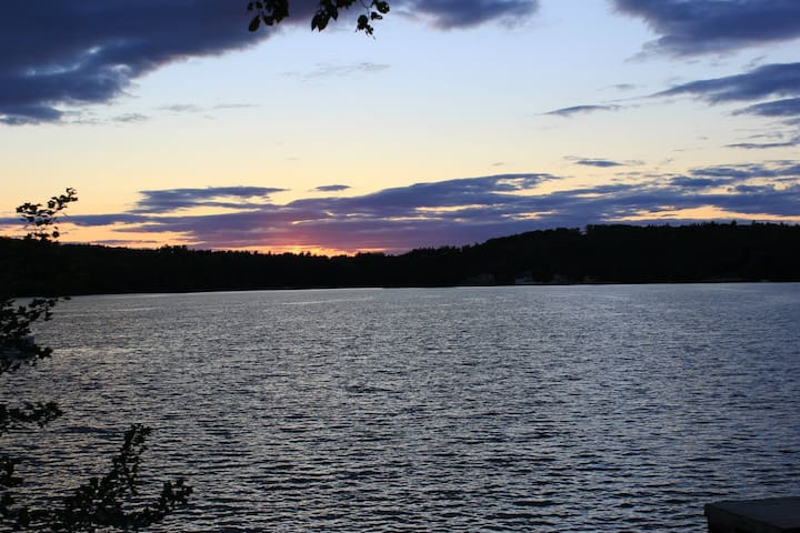 Sunset Lake House - Ashburnham - Dom