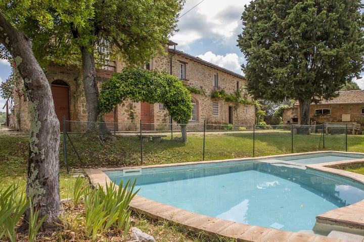 Villa Glicine, the ideal country house