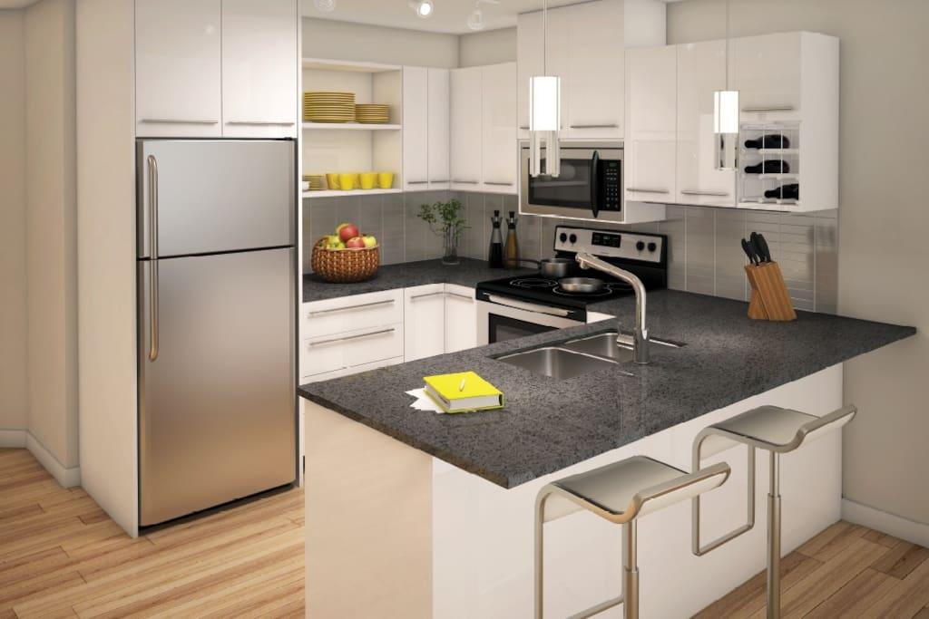 Mike 39 S Studio Off Whyte Condominiums For Rent In Edmonton Alberta Canada
