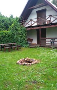 Haus am See im Naturgebiet der Mazuren