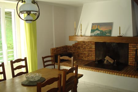 La Maison de L'Espine,  pays Cathare et Pyrénées - Fougax-et-Barrineuf - บ้านพักตากอากาศ