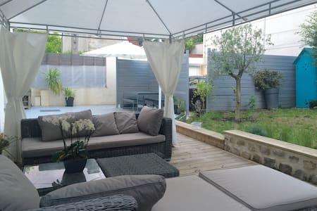 Master suite/Suite Parentale jardin - Ivry-sur-Seine - Casa