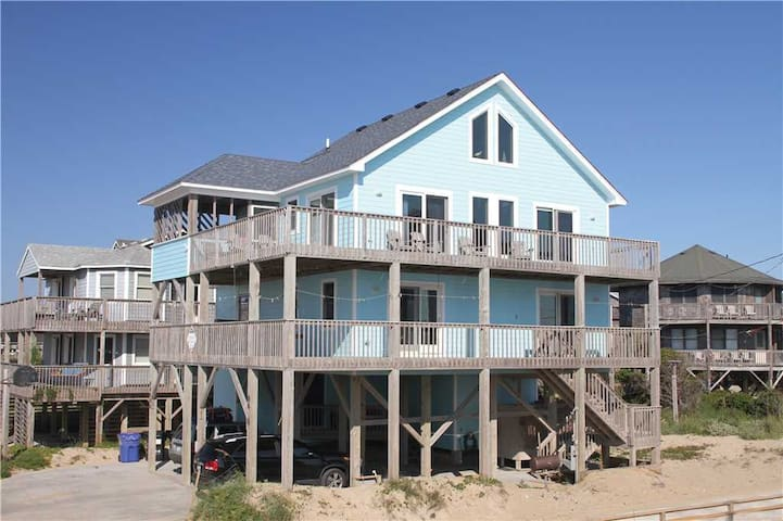 OCEANVIEW in Buxton w/HotTub, PetFriendly