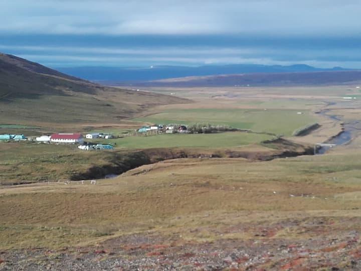 Country camper suite í Dalabyggð
