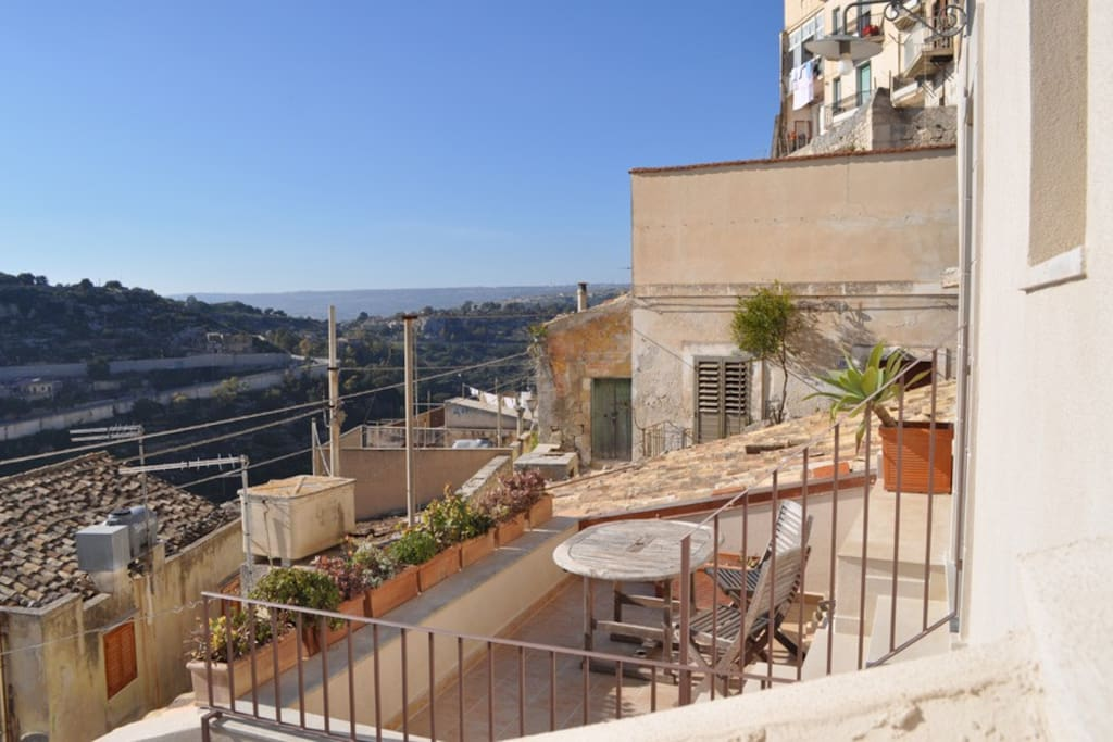 "terrace of the apartment ""Terrazza"""