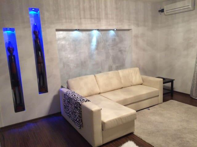 Уютная стильная квартира - Челябинск - Leilighet
