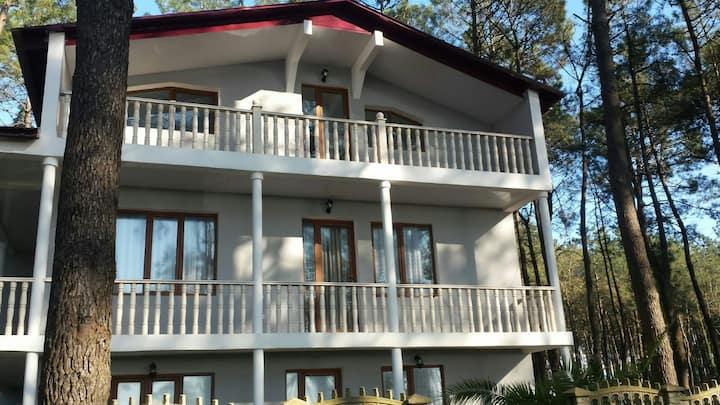 Italian beach house