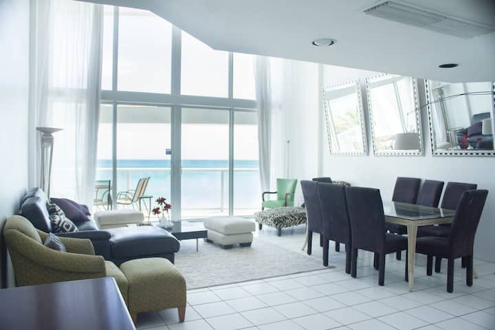 Loft with Balcony and Ocean view for 8 pple - DSP3