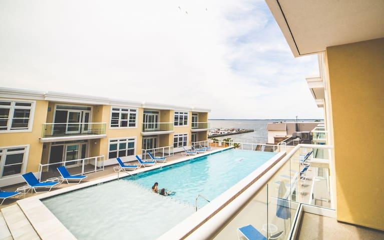 Luxury 2 Bedroom Condo w/ Bay Views in Dewey Beach