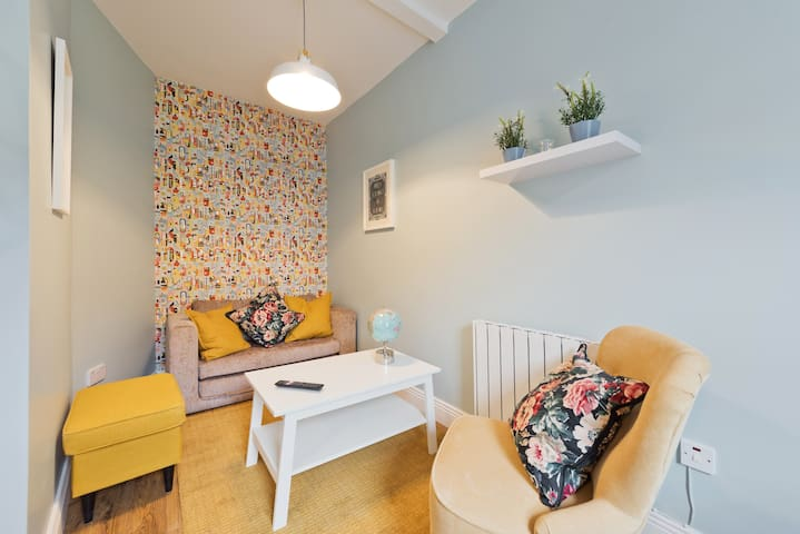 New 1st Flr 1 bd Pad TV +WiFi nr Temple Bar Slp 3