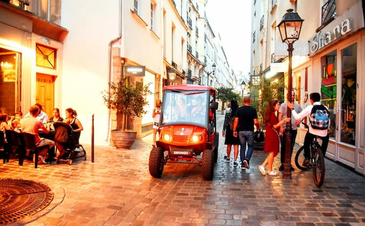Old parisian street