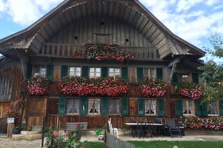 maison fribougeoise - villarvolard - Wohnung