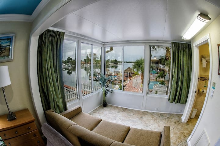 Penthouse with Balcony Suite: 1 King Bed and 2 Sleeper Sofas