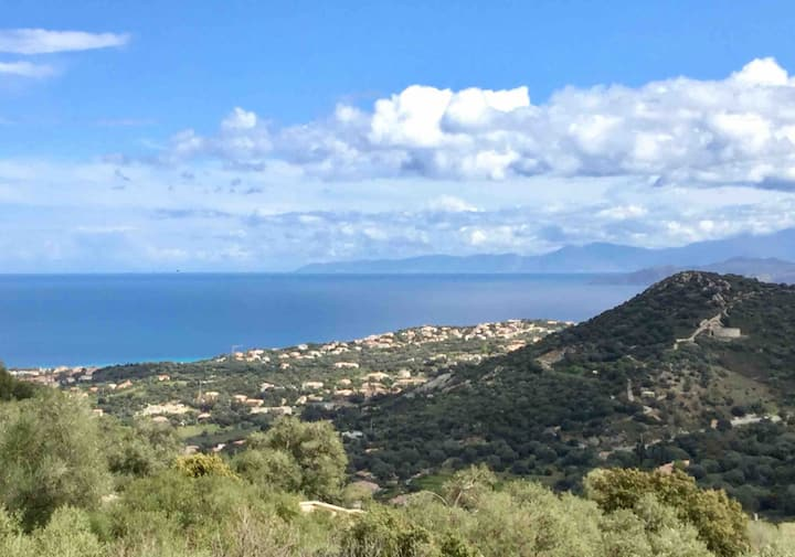 Santa Reparata (proche Ile Rousse) Studio vue mer