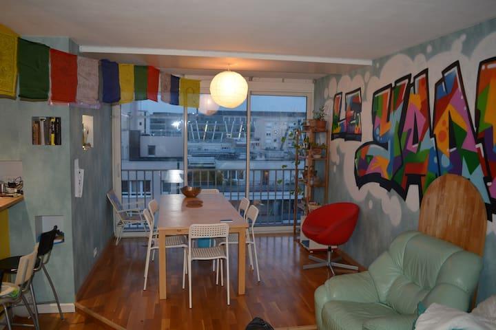 Appartement récent 6 personnes spatieux lumineux - Le Kremlin-Bicêtre - Departamento