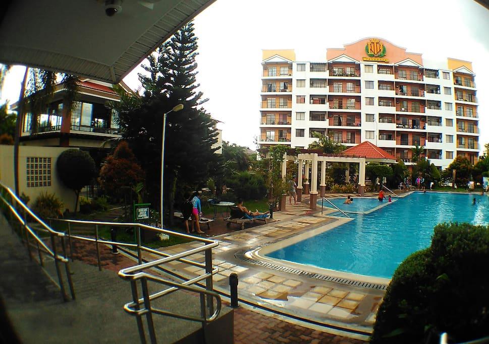Free use swimming Pool